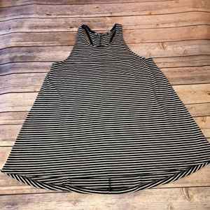 Athleta — Striped Swing Racerback Tank Small